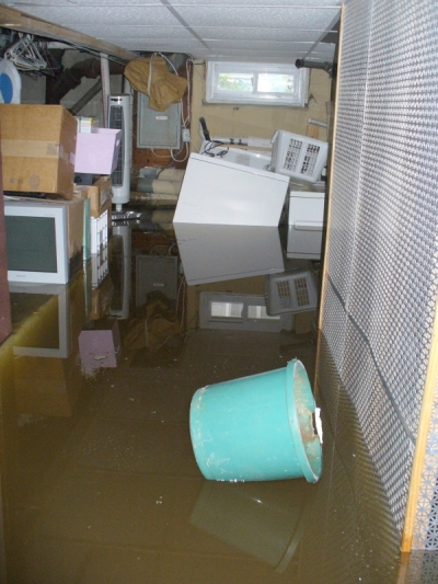 Saltwater Surged Basement