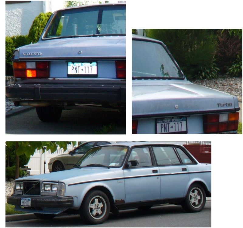 1982 Light Blue Volvo Turbo Stolen